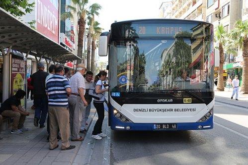 Otobüsler akşam 20.00'den sonra ücretsiz