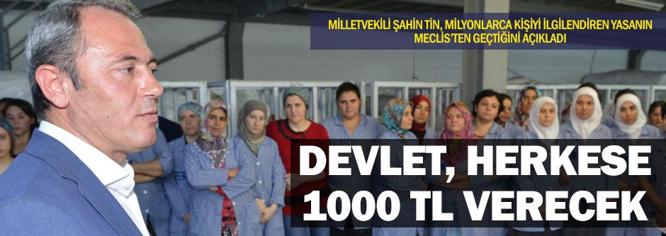 Bireysel emeklilikte 1000 TL devlet katkısı