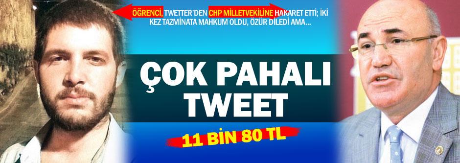 CHP'li Tanel peşini bırakmadı, üniversiteli özür diledi
