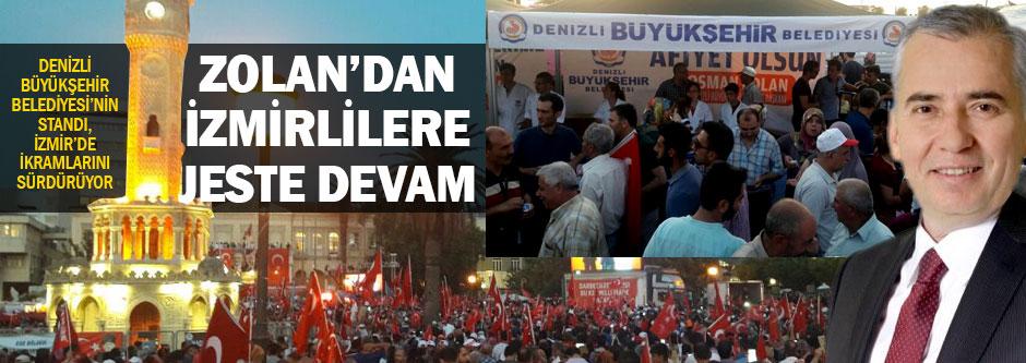 İzmirliler istedi, Başkan Zolan yaptı