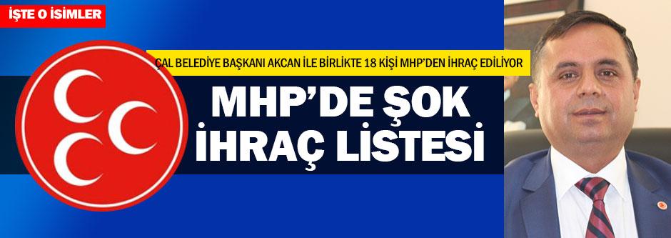 MHP'den 18 kişi ihraç edilecek iddiası