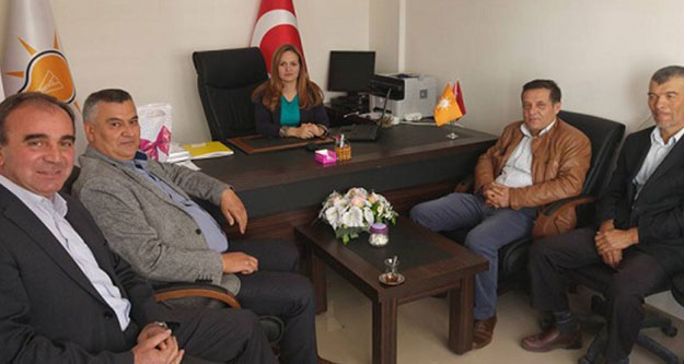 CHP'lilerden Ak Partili Başkana ziyaret