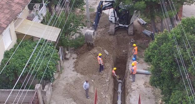 Çivril-Emirhisar'da alt yapı atağı