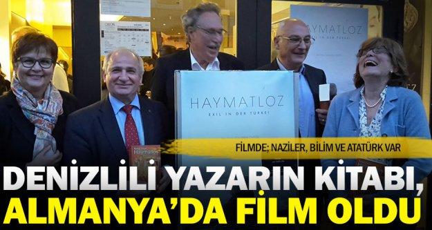 Denizlili yazar Yalçın'ın kitabı Almanya'da film oldu