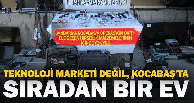 Jandarma Kocabaş'ı bastı