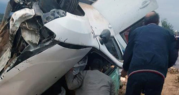 Kaklık'ta kaza: 2 yaralı
