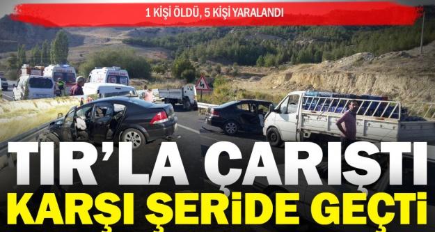 Sarayköy'de kaza; 1 kişi öldü, 5 kişi yaralandı