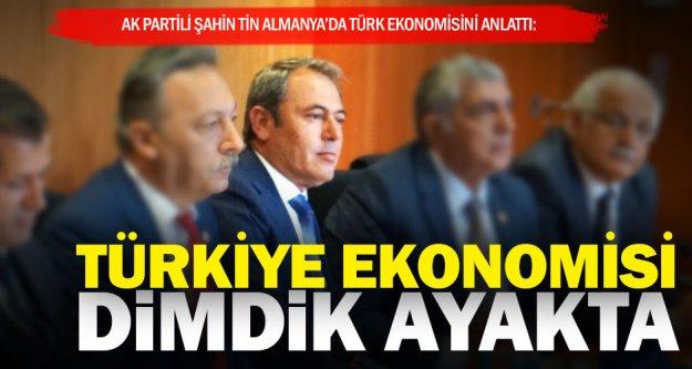 Tin Almanya'da Türk ekonomisini anlattı