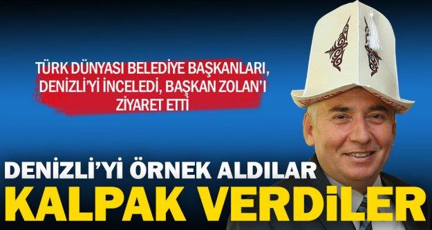 Türk Dünyasından Başkan Zolan'a ziyaret