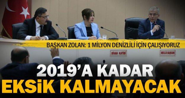 Başkan Zolan: 1 milyon Denizlili için çalışıyoruz