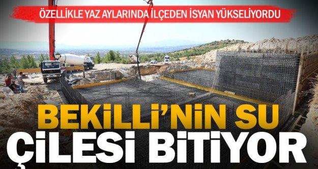 Bekilli'ye tarihinin en büyük 'su' yatırımı