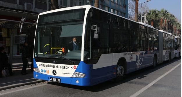 Belediye otobüsleri KPSS'ye özel ücretsiz olacak