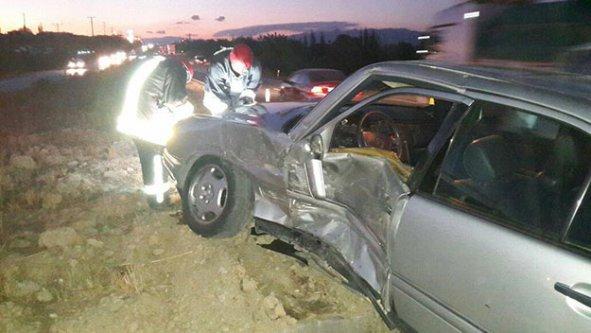Beylerbeyi'nde kaza: 2 yaralı
