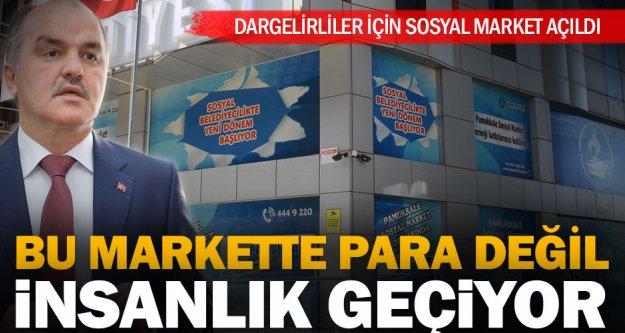 Pamukkale Belediyesi'nden sosyal market