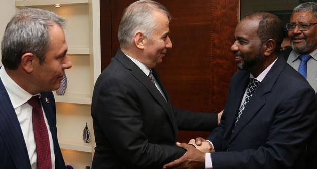 """'Sudanlılarla kardeşliğimiz pekişecek"""""""