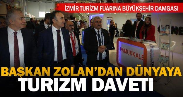 İzmir Turizm Fuarına Büyükşehir damgası