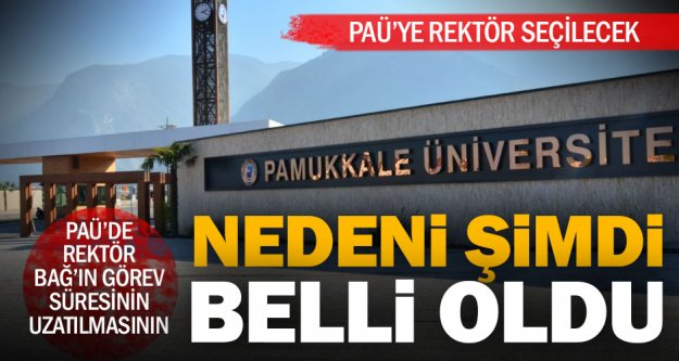 Pamukkale Üniversitesi'ne rektör atanacak