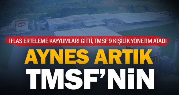 Sahipleri tutuklanan fabrika TMSF'nin
