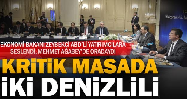 Zeybekci ABD'li yatırımcılara seslendi