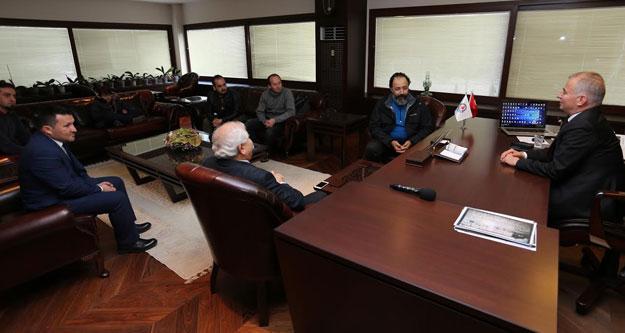 Antalya Şehir Tiyatrosu'ndan Başkan Zolan'a ziyaret