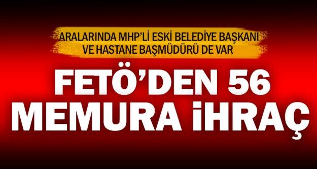 Denizli'de 56 memur FETÖ'den ihraç edildi