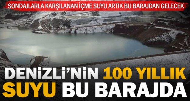 Denizli'nin içme suyu ihtiyacını karşılayacak Akbaş Barajı tamamlanıyor