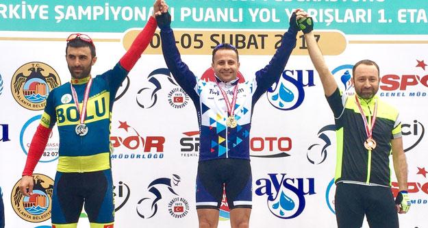 Bisikletin şampiyonu Denizli'den