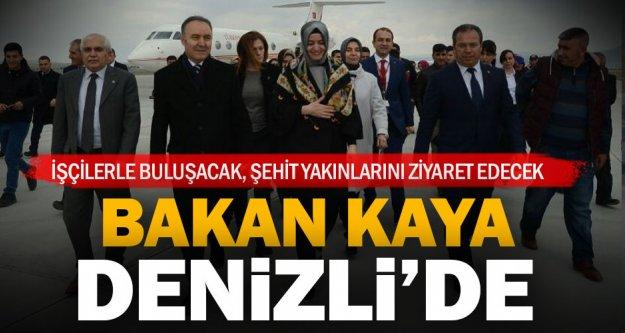 Bakan Kaya, Denizli'de
