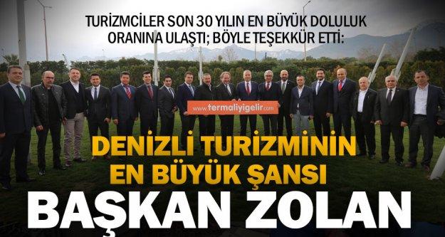 Başkan Osman Zolan, Denizli turizmi için bir şans