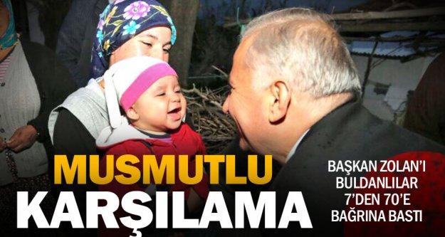 Başkan Zolan Buldan'a çıkarma yaptı