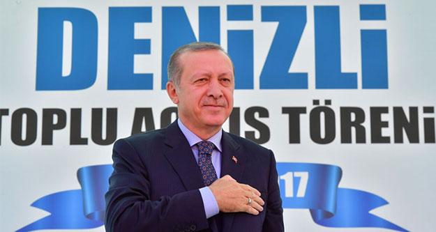 Cumhurbaşkanı Erdoğan Denizlililerle hangi konuları paylaştı