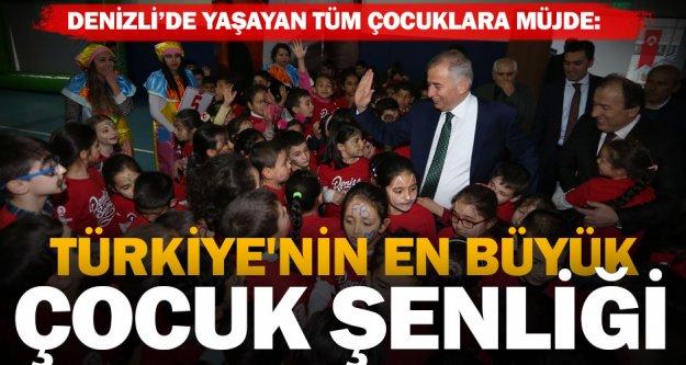 Türkiye'nin en büyük Çocuk Şenliği başladı