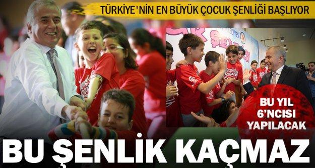 Türkiye'nin en büyük Çocuk Şenliği başlıyor