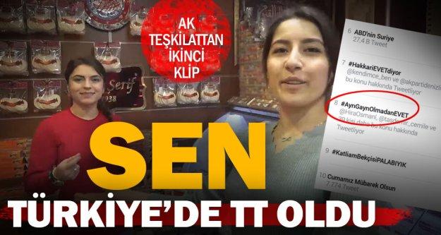 #AyrıGayrıOlmadanEVET Türkiye'de gündem oldu