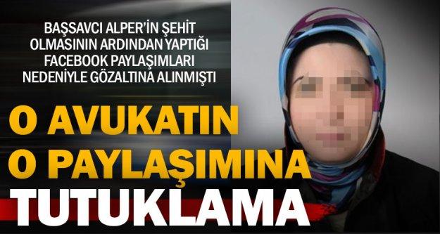 Avukat Ayşe Rabia Y. tutuklandı