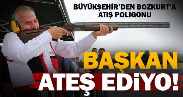 Büyükşehir'den Bozkurt'a atış poligonu