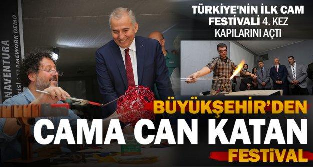 Türkiye'nin ilk cam festivali 4. kez kapılarını açtı