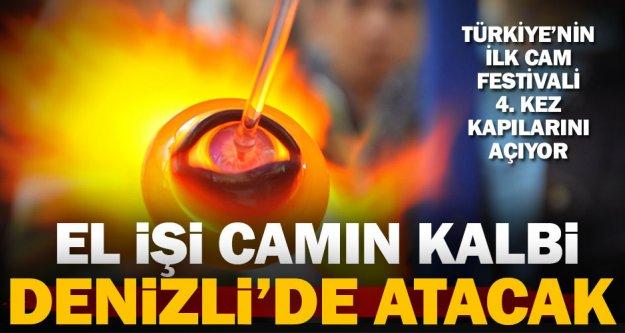 Türkiye'nin ilk cam festivali 4. kez kapılarını açıyor