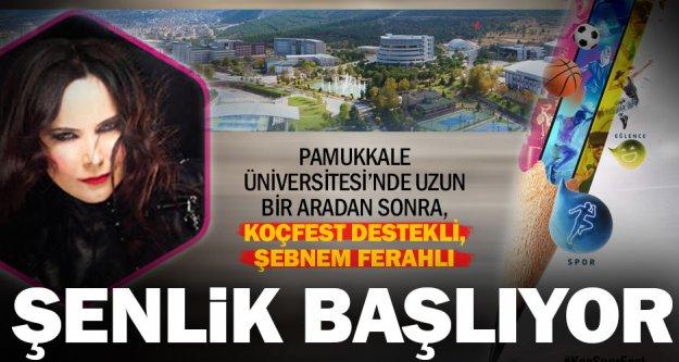 Üniversitede şenlik var