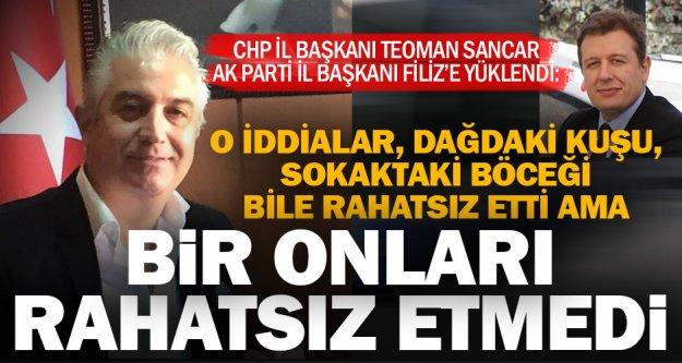 """CHP İl Başkanı Sancar, 'Filiz hakkındaki iddialar için savcıları göreve çağırıyorum"""""""