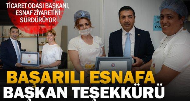DTO Başkanı Erdoğan üye ziyaretlerini sürdürüyor