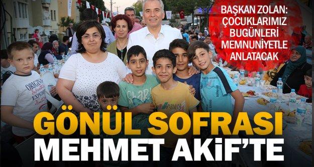 İftar bereketi Mehmet Akif Ersoy Mahallesi'ne taşındı
