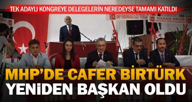 MHP'de İl Kongresi tamam: Birtürk Başkan