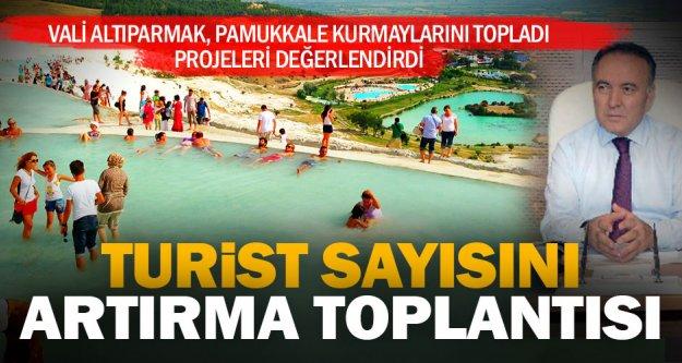 Pamukkale'ye gelen turist sayısı artacak