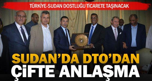 Türkiye – Sudan dostluğu ticarete dönüşüyor
