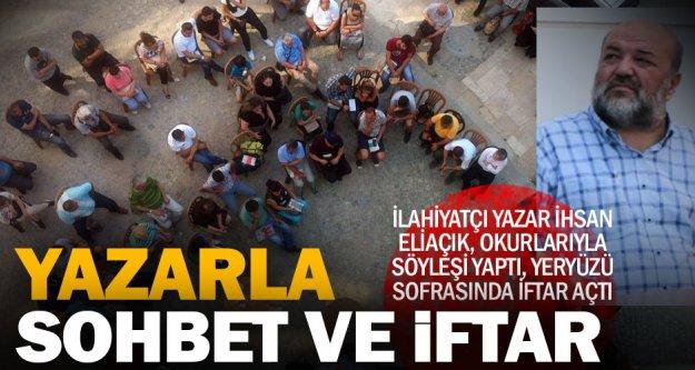 Yazar İhsan Eliaçık'la sohbet ve iftar
