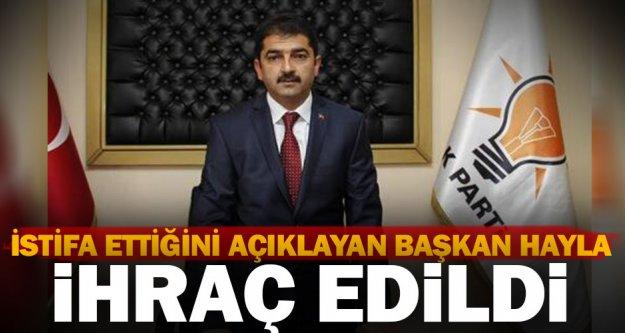 Ak Parti: Kale Belediye Başkanı Hayla ihraç edildi