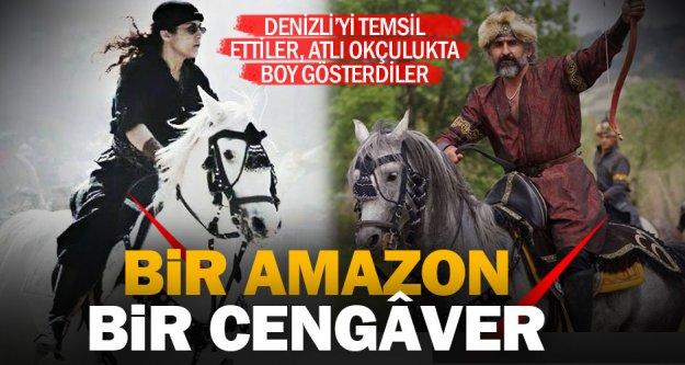 Atlı Okçuluk Türkiye Şampiyonası'na Denizli damgası