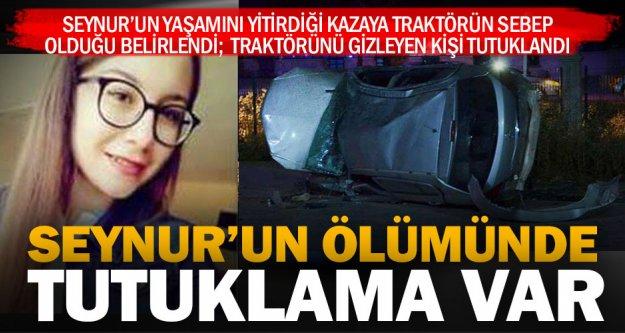 Çivril'deki kazaya traktör neden olmuş