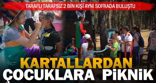 Denizli Beşiktaşılar Derneği'nden çocuklara özel piknik